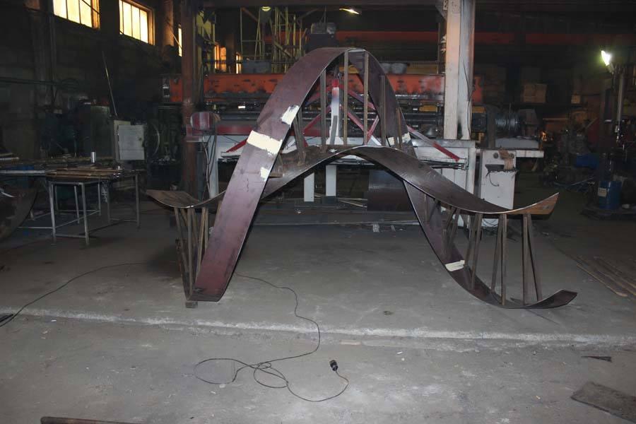 Производство металлических лестниц